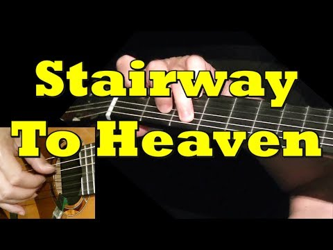 Stairway To Heaven – Led Zeppelin, guitar lesson & TAB! Learn to play