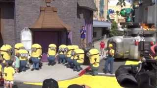Grand Opening of Despicable Me Minion Mayhem with Miranda Cosgrove and other stars