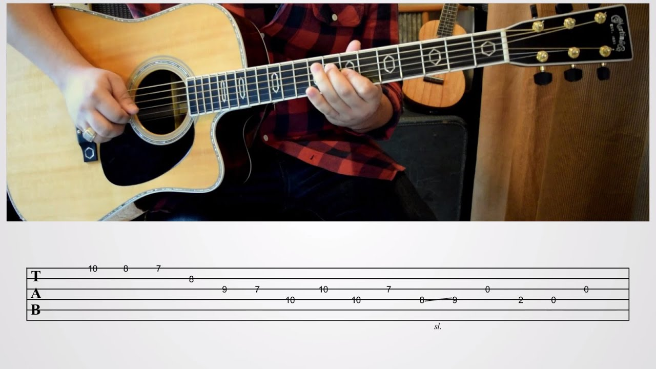 Descending The Neck – Advanced Bluegrass Guitar Lesson