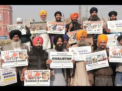 Sikhs Protest for Khalistan Independence | Heart of Asia Conference Amritsar 2016 #FreeKhalistan