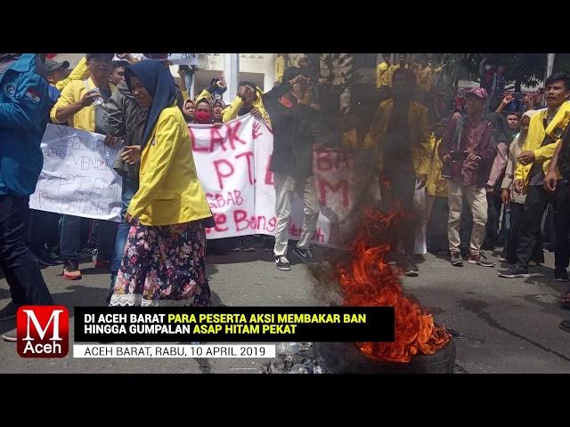 Mahasiswa Kembali Lakukan Demo Tolak PT EMM, Berlangsung di Dua Lokasi