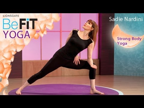 Strong Body Yoga Workout- BeFit Yoga (Sadie Nardini)