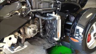 7. How to change Coolant in Can am Spyder RS
