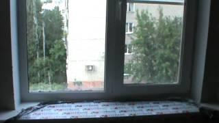 Пластиковое окно в панельный дом