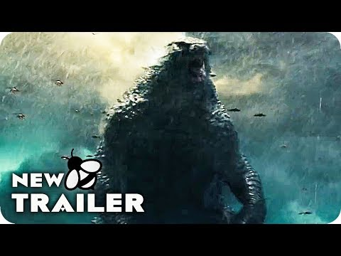 GODZILLA 2 Trailer (2019) King of the Monsters