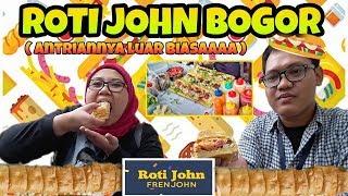 Video ROTI JOHN BOGOR | Baru Buka Sudah Antri! MP3, 3GP, MP4, WEBM, AVI, FLV September 2018