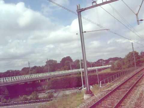 treinrit van rotterdam centraal naar rotterdam alexander