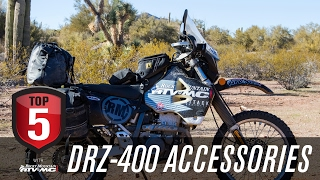 7. Top 5 DRZ 400 Accessories for Adventure Riding