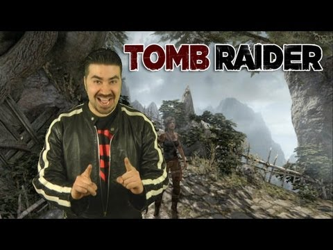 review - For more Visit: http://angryjoeshow.com/2013/03/tomb-raider-angry-review/