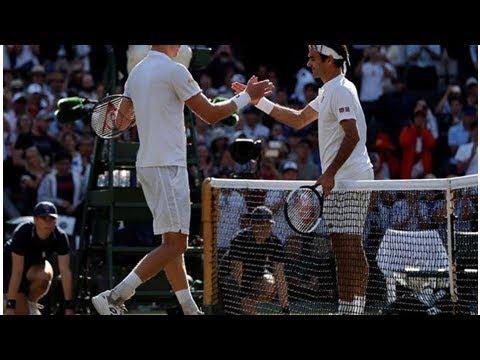 Kevin Anderson salva una bola del partido y vence al gran Federer