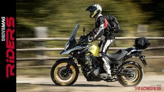 2. 2017 Suzuki V-Strom 650 Review | On & Off-Road