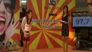 Loudest Screaming Contest In Thailand 2009 - Funny Parody Spongebob