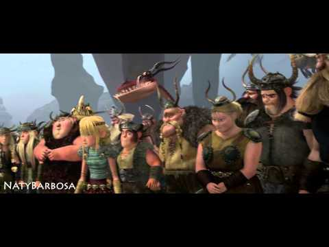 HTTYD scene with another soundtrack - Kerchak