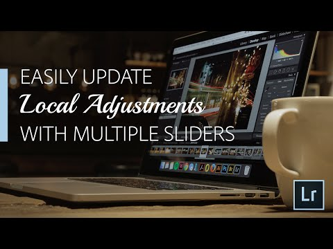 Easily Update Multiple Adjust Brush Sliders