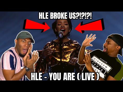 🇿🇦THE SOUTH AFRICAN LADY THAT BROKE US?! *HIGHLY REQUESTED* | HLE - You Are (LIVE) | Reaction