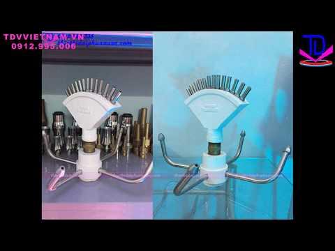 Vòi phun quay Rotating nozzle - Thiết bị đài phun nước