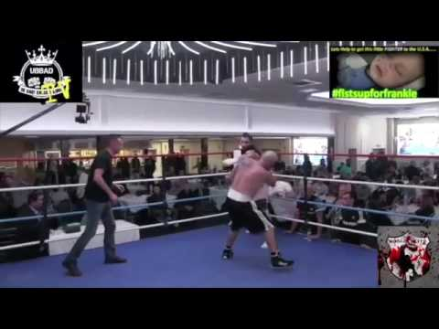 UBBAD BKB Roy Shaw son Gary shaw v Isaac Gibbs bare knuckle fight