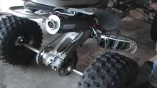 8. GYTR exhaust yfz450 2008 2009 sound before and after performance modification atv Yamaha