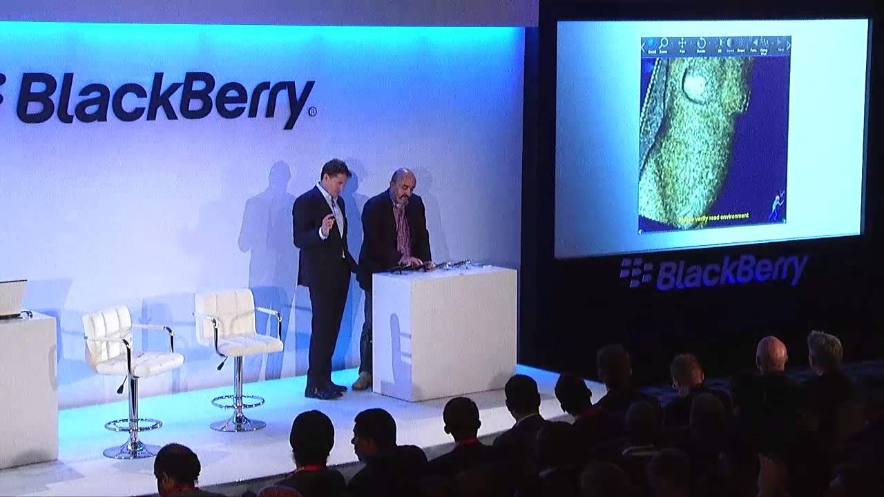 BlackBerry Passport Launch, London – Claron Technology, Healthcare Application