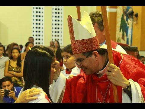 170 Jovens recebem o sacramento da confirmação em nossa paróquia