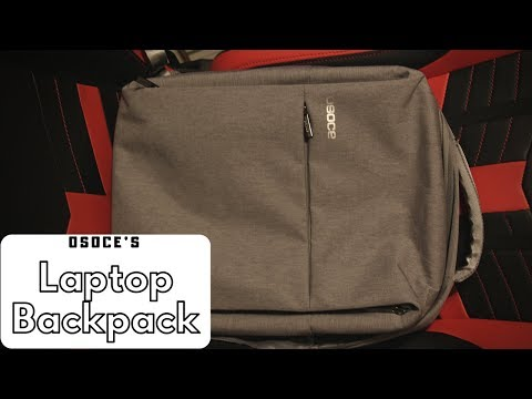 Best Laptop Backpack for Travel?!? (OSOCE's Laptop Backpack)