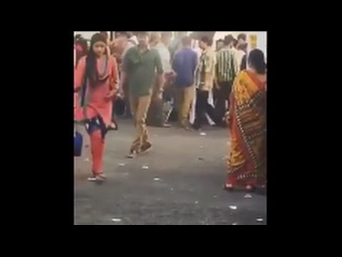 bhairava movie shooting spot video leaked | Vijay and keerthi suresh scene leaked