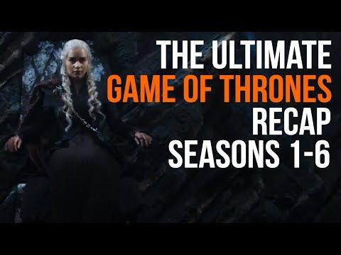 The Ultimate Game of Thrones Recap Seasons 1 - 6 (видео)