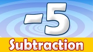 Subtraction -5, Math Song