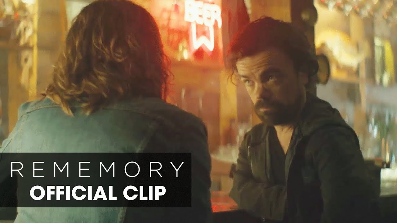 We are Nothing more than the Memories with Keep in Mark Palansky's Psychological Whodunit 'Rememory' (Clip) with Peter Dinklage, Anton Yelchin &  Julia Ormond