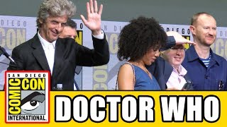 Doctor Who Comic Con 2017 panel Season 10, Christmas Special, news & highlights with Peter Capaldi, Pearl Mackie, Matt ...
