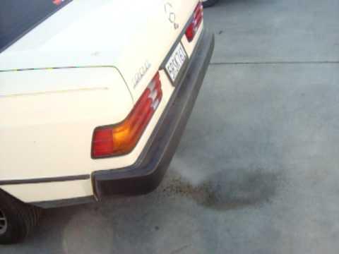 1988 Mercedes 190 Seafoam