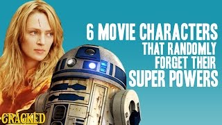 6 Movie Characters that Randomly Forget Their Super Powers