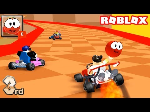 MARIO KART RACING IN ROBLOX MEEP CITY