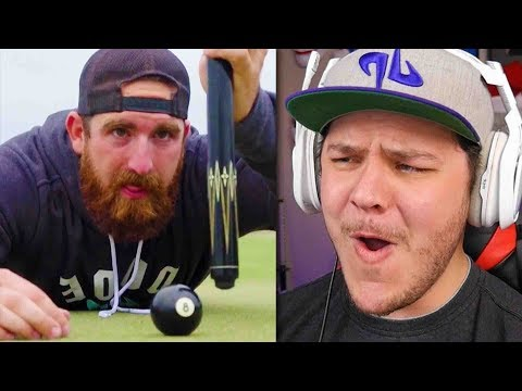 All Sports Golf Battle 2   Dude Perfect - Reaction