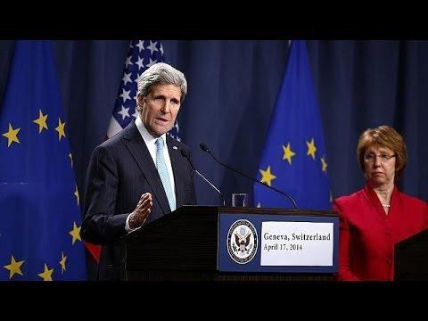 La réunion de Genève accouche d'un accord sur l'Ukraine
