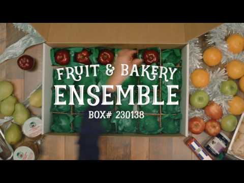 Delicious Orchards Mail Order Fruit and Bakery Ensemble Box #230138