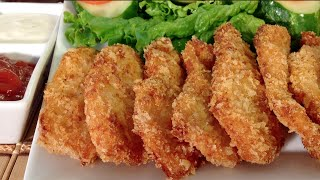 How To Make Chicken Nuggets-Comfort Finger Food Recipes-Party Appetizers-Panko