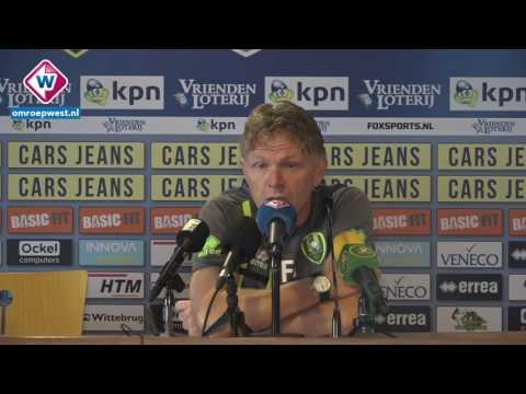Groenendijk voor ADO Den Haag - FC Utrecht
