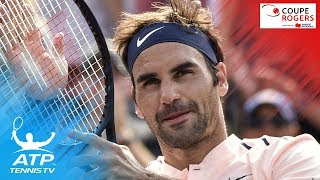 A lot of magic was on display as Roger Federer defeated Robin Haase to move into the Coupe Rogers 2017 final. Watch official ATP tennis streams all year ...