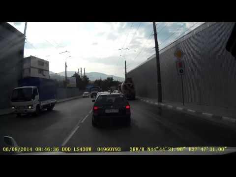 Авария с Камазом в Новороссийске