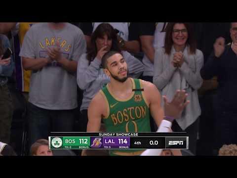 LeBron speaks out on his clutch shot vs. Celtics