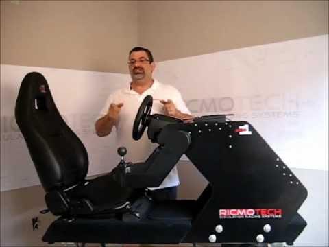 Tour of the RS1-DIY Racing Simulator Cockpit