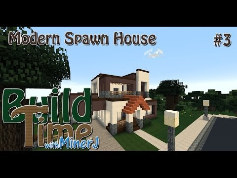 Modern spawn house minecraft project for Modern house 8 part 3