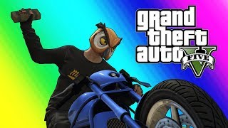 GTA5 Online Funny Moments - Bikers VS RPG! by Vanoss Gaming