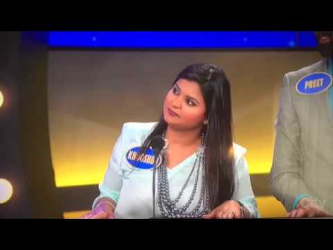 "Punjabi Family on ""Family Feud"" teaches Steve Harvey few Bhangra Steps"