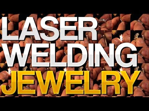 <h3>The Best Jewelry Repairs with a Laser Welder!</h3>In this video we demonstrate a massive variety of manual laser welding applications for jewelry. watches, and eye glasses. Our laser welders are versatile, easy to maintain, and incredibly powerful.