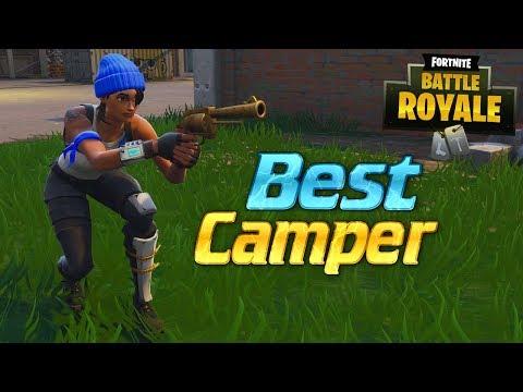 Eugine the BEST Fortnite CAMPER! Magnum Only Challenge
