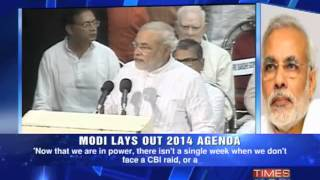 Narendra Modi's Agenda 2014