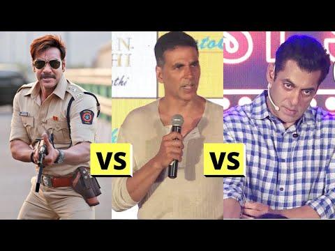 Salman Khan, Akshay Kumar VS Ajay Devgn REAL FIGHT Reason