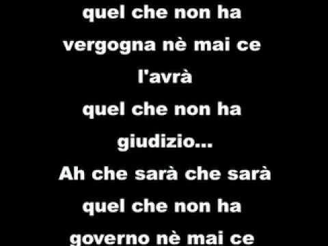 , title : 'OH CHE SARÀ CHE SARÀ (Chico Buarque De Hollanda) testo italiano di Ivano Fossati'